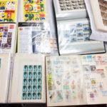 蒐集された古い切手