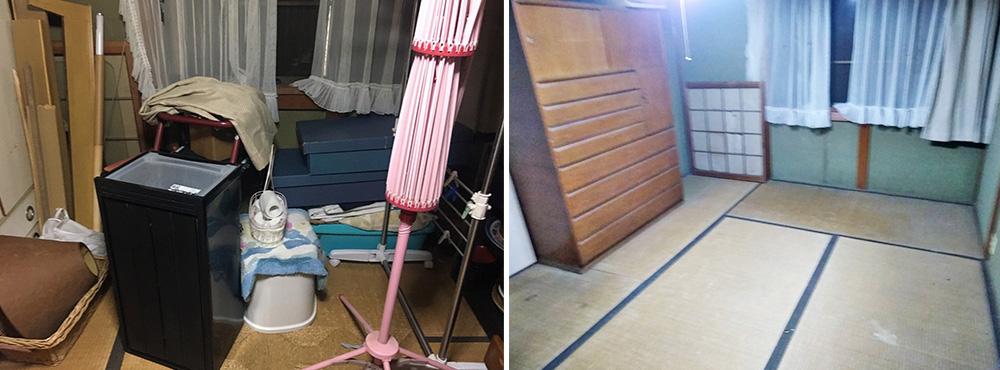 京都市T様邸 遺品整理をさせていただきました