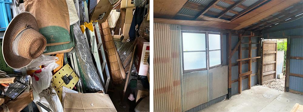舞鶴 倉庫の整理