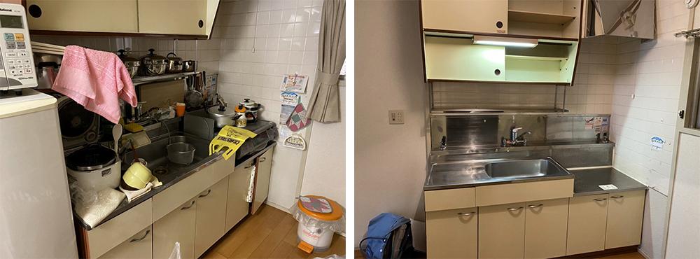 京都市マンションの遺品整理
