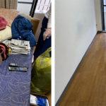 遺品整理と一部特殊清掃 京都市マンション